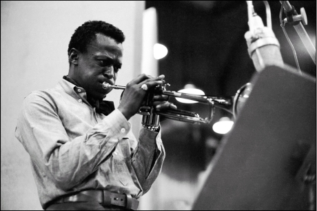 Miles Davis, a great improviser with an innate ability to reinvent himself throughout his career. As such he is a prime example of social creativity, i.e. the notion that we're creating the social in every now, and that we need to be creative all the time in order to be successful in social life – as well as in social media.