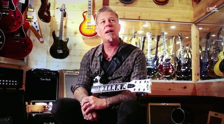 hetfield at guitar center